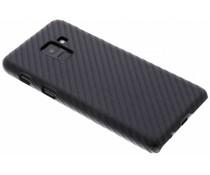 Carbon Look Hardcase-Hülle Schwarz für Samsung Galaxy A8 (2018)
