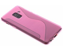 Rosa S-Line TPU Hülle für Samsung Galaxy A8 (2018)