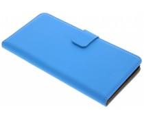 Selencia Blaues Luxus Bookcase für Huawei Y7 Prime