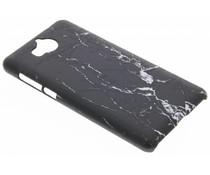 Marmor Look Hardcase Hülle für Huawei Y6 (2017)