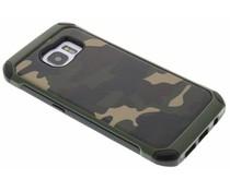 Grüne Camouflage Hardcase-Hülle für Samsung Galaxy S7 Edge