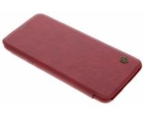 Nillkin Qin Leather Slim Booktype Hülle für das OnePlus 5T