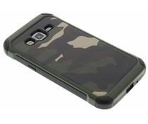 Grüne Camouflage Hardcase-Hülle für Samsung Galaxy J3/J3 (2016)