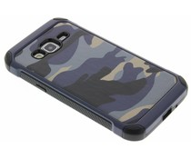 Blaue Camouflage Hardcase-Hülle für Samsung Galaxy J3/J3 (2016)
