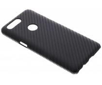 Carbon Look Hardcase-Hülle Schwarz für OnePlus 5T