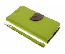 Blatt-Design TPU Booktype Hülle für Motorola Moto G5