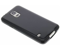 Schwarzes Gel Case Samsung Galaxy S5 (Plus) / Neo