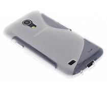 Transparente S-Line TPU Hülle für Samsung Galaxy S4 Mini