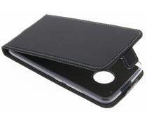 Accezz Schwarzer Flip Case für das voor de Motorola Moto G5 Plus