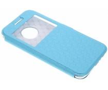 Blaue Rauten-Hülle für Motorola Moto G5 Plus