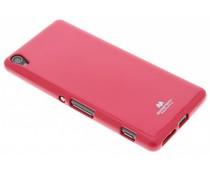 Mercury Goospery Jelly Case für Sony Xperia XA - Fuchsia