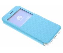 Blaue Rauten-Hülle für Huawei Y6