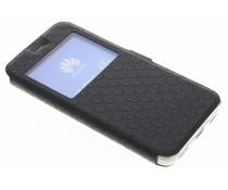 Schwarze Rauten-Hülle für Huawei Y6