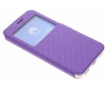 Violette Rauten-Hülle für Huawei Y6