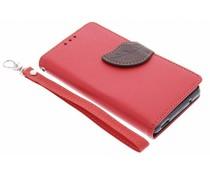 Blatt-Design TPU Booktype Hülle Sony Xperia Z3 Compact