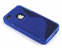 Blaue S-Line TPU Hülle für iPhone 4 / 4s