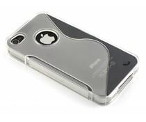 Transparente S-Line TPU Hülle für iPhone 4 / 4s