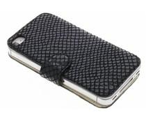 Valenta Booklet Slim Animal Snake für das iPhone 4 / 4s