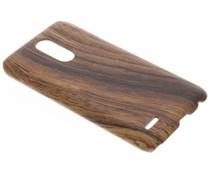 Holz-Design Hardcase-Hülle LG K10 (2017)