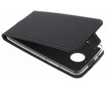 Accezz Schwarzer Flip Case für das Motorola Moto E4 Plus