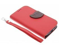 Blatt-Design TPU Booktype Hülle für Samsung Galaxy S3 / Neo
