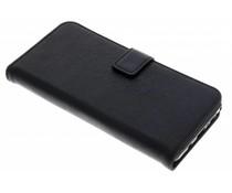 Schwarze Luxus Leder Booktype Hülle für Samsung Galaxy Note 8