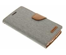 Mercury Goospery Grau Canvas Diary Case LG G3