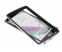 Silberfarbene Bumper Hülle für LG G4