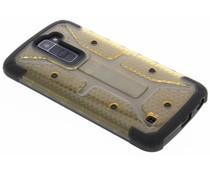 Xtreme Defender Hardcase Transparent Gelb für das LG K10