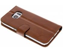 Valenta Braunes Booklet Classic Luxe für das Samsung Galaxy S7
