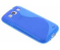 Blaue S-Line TPU Hülle für Samsung Galaxy S3 / Neo