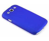 Blaue unifarbene Hardcase-Hülle für Samsung Galaxy S3 / Neo