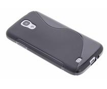 Schwarze S-Line TPU Hülle für Samsung Galaxy S4