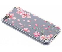 Blumen Design Silikon-Hülle iPod Touch 5g / 6