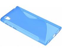 Blaue S-Line TPU Hülle für Sony Xperia L1