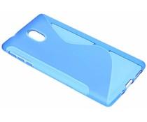 Blaue S-Line TPU Hülle für Nokia 3