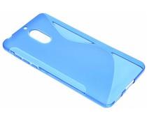 Blaue S-Line TPU Hülle für Nokia 6