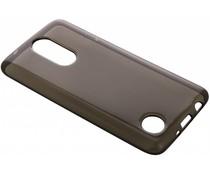 Graue transparentes Gel Case für LG K8 (2017)