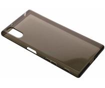 Graue transparentes Gel Case für Sony Xperia XZ / XZs