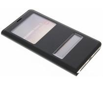 Luxus Slim Booktype Hülle mit Sichtfenster Huawei Mate 9