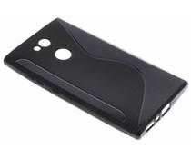 Schwarze S-Line TPU Hülle für das Sony Xperia L2