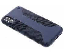 Speck Blaues Presidio Grip Case iPhone Xs / X