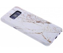 Selencia White Marble Passion Hard Case Samsung Galaxy S8