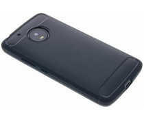 Dunkelblauer Brushed TPU Case Motorola Moto G5