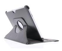 Schwarze 360° drehbare Schutzhülle für das Samsung Galaxy Tab 2 10.1