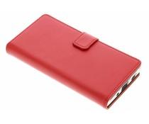 Selencia Roter Luxus TPU Book Case für Sony Xperia XA2