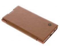 Nillkin Qin Leather Slim Booktype Hülle Braun für das Sony Xperia XA2