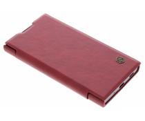 Nillkin Qin Leather Slim Booktype Hülle Rot für das Sony Xperia XA2