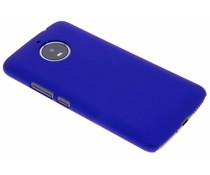 Blaue unifarbene Hardcase-Hülle für Motorola Moto E4 Plus