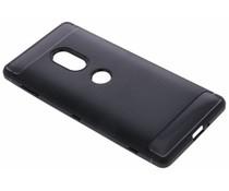 Schwarzer Brushed TPU Case für das Sony Xperia XZ2